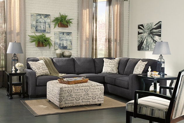Alenya 3-Piece Sectional, Charcoal, large