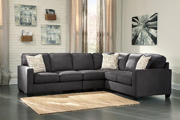 Alenya 3 Piece Sectional Ashley Furniture Homestore