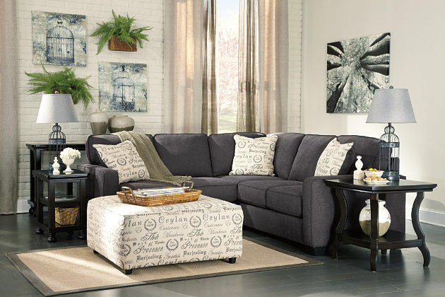 Alenya 2-Piece Sectional, Charcoal, large