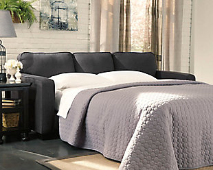 Alenya Queen Sofa Sleeper, Charcoal, large