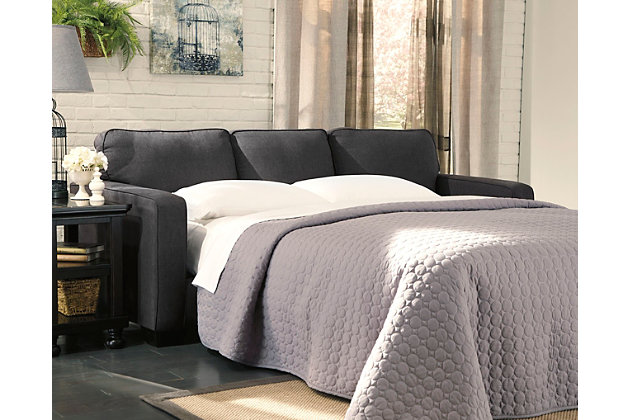 Alenya Queen Sofa Sleeper, Charcoal, large