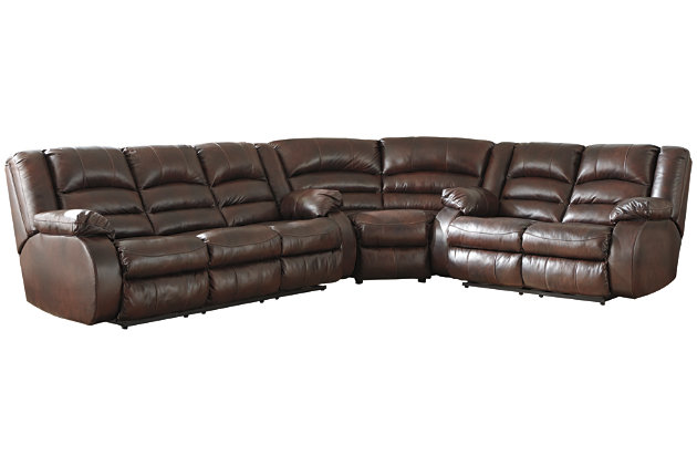Levelland 3-Piece Reclining Sectional with Power, , large