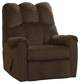 Raulo Recliner, Chocolate, large