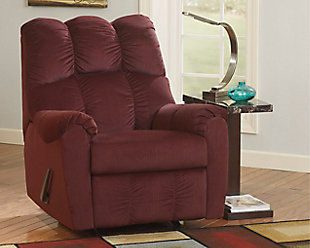 Burgundy Product shown on a white background & Raulo Recliner | Ashley Furniture HomeStore islam-shia.org