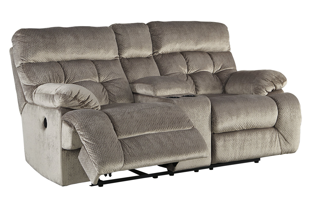 Swell Brassville Power Reclining Loveseat With Console Ashley Ibusinesslaw Wood Chair Design Ideas Ibusinesslaworg
