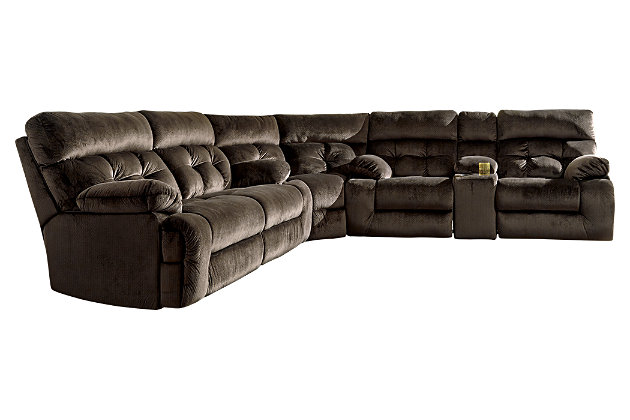 Brassville 3-Piece Reclining Sectional, , large