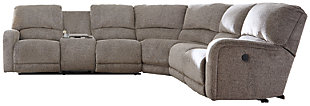 Pittsfield 4-Piece Sectional with Power, , large