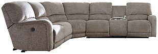 Pittsfield 4-Piece Sectional w/Power, , large