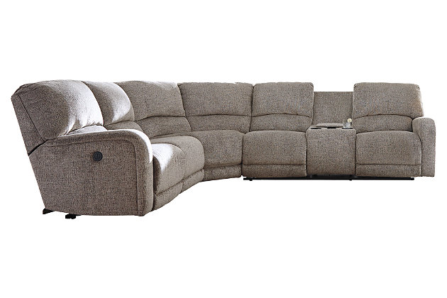 Pittsfield 3-Piece Power Reclining Sectional, , large