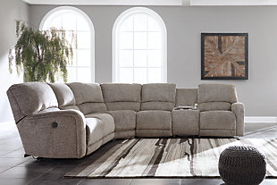 Pittsfield 4-Piece Sectional w/Power, , rollover