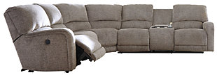 Pittsfield 3-Piece Sectional w/Power, , large