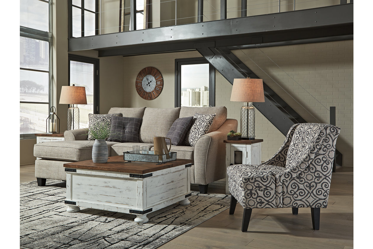 Prime Kestrel Sofa Chaise Ashley Furniture Homestore Customarchery Wood Chair Design Ideas Customarcherynet