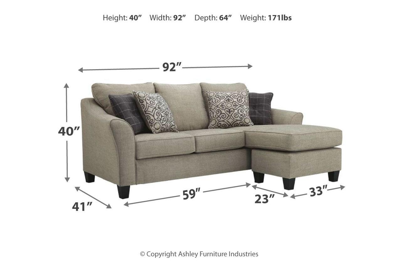 Miraculous Kestrel Sofa Chaise Ashley Furniture Homestore Evergreenethics Interior Chair Design Evergreenethicsorg