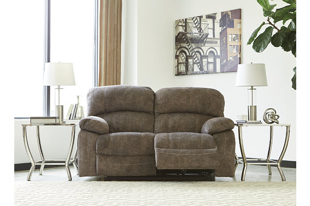Cannelton Power Reclining Loveseat with Console, , large