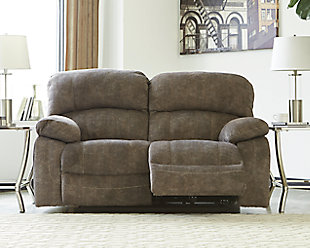 Cannelton Power Reclining Loveseat with Console, , rollover
