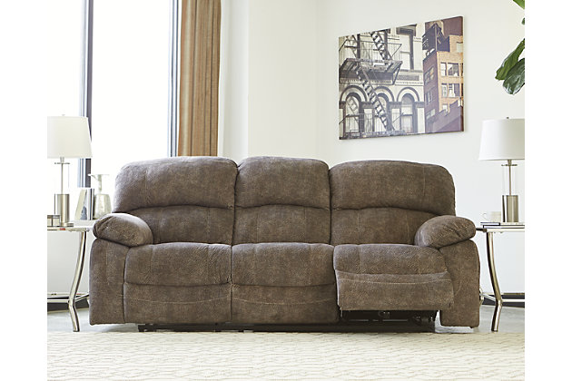 Cannelton Power Reclining Sofa, , large