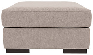 Bantry Nuvella® Oversized Ottoman, Slate, rollover