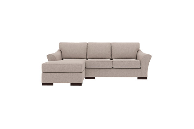 Bantry Nuvella® 2-Piece Sectional with Chaise, Slate, large