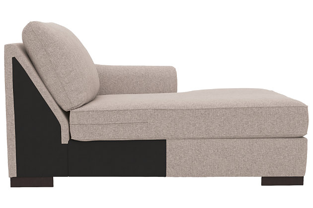 Bantry Nuvella® 5-Piece Sectional with Chaise and Sleeper, Slate, large