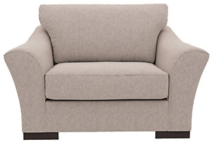 Bantry Nuvella® Oversized Chair, Slate, rollover