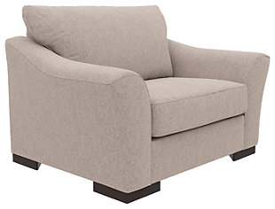 Bantry Nuvella® Oversized Chair, Slate, large