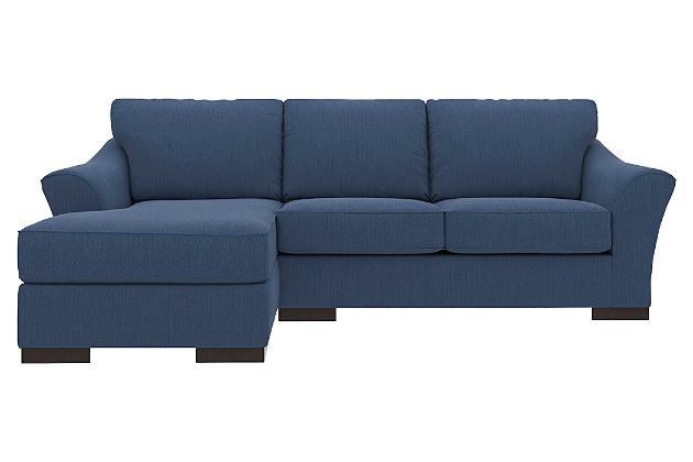 Bantry Nuvella® 2-Piece Sectional with Chaise, Indigo, large