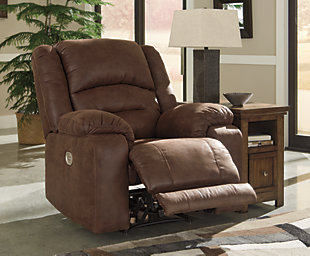 Carrarse Power Recliner Ashley Furniture Homestore