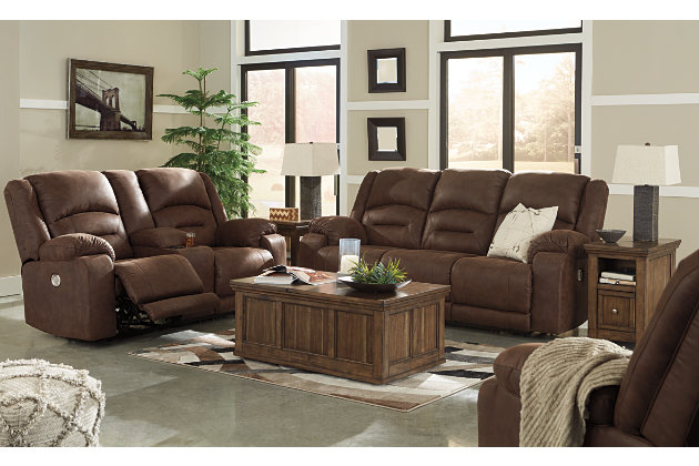 Carrarse Power Reclining Sofa, , large