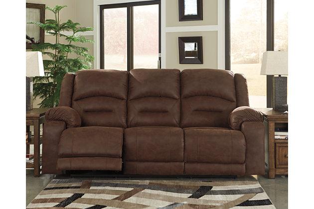 Stupendous Carrarse Power Reclining Sofa Ashley Furniture Homestore Inzonedesignstudio Interior Chair Design Inzonedesignstudiocom