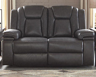 Garristown Power Reclining Loveseat, , rollover