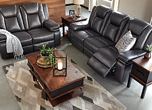 Garristown Power Reclining Loveseat, , large