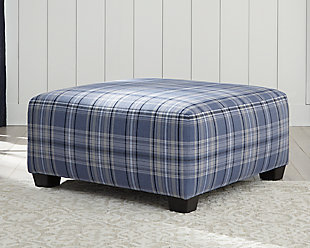 Reevesville Oversized Accent Ottoman, , rollover