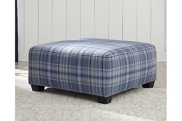 Reevesville Oversized Accent Ottoman, , large