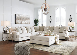 Rawcliffe 3-Piece Sectional with Ottoman, , large