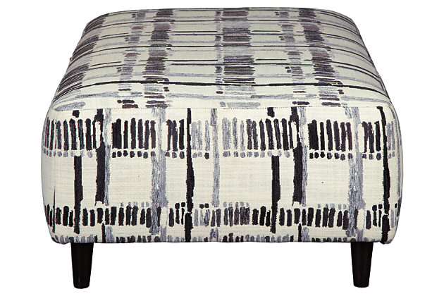 Kennewick Oversized Accent Ottoman, , large