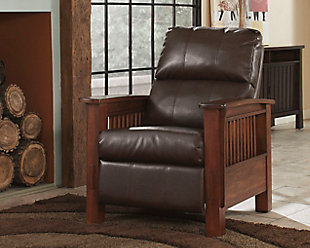 Santa Fe Recliner, Bark, large