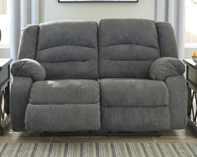 Reclining Loveseat Charcoal Power Product Photo 813