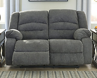 Athlone Power Reclining Loveseat, , rollover