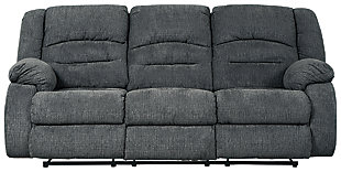 Athlone Power Reclining Sofa, Charcoal, large