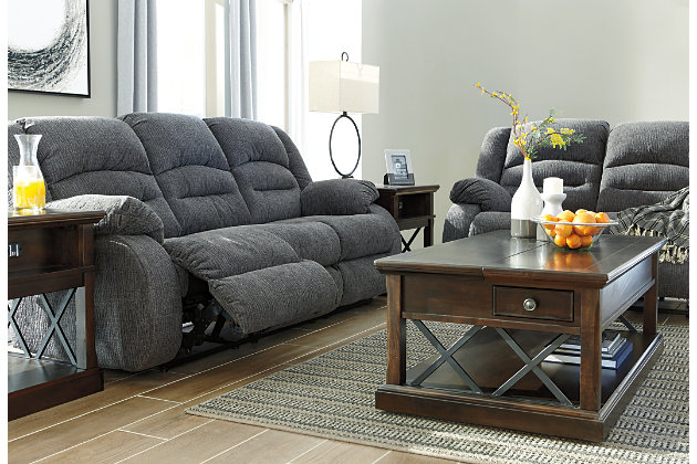 Athlone Power Reclining Sofa Ashley Furniture Homestore