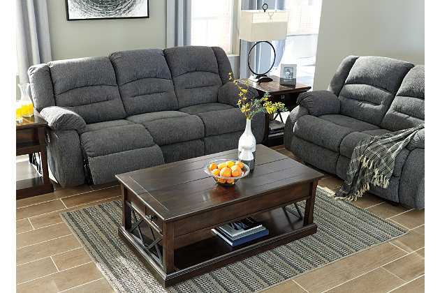 Athlone Power Reclining Loveseat Ashley Furniture Homestore