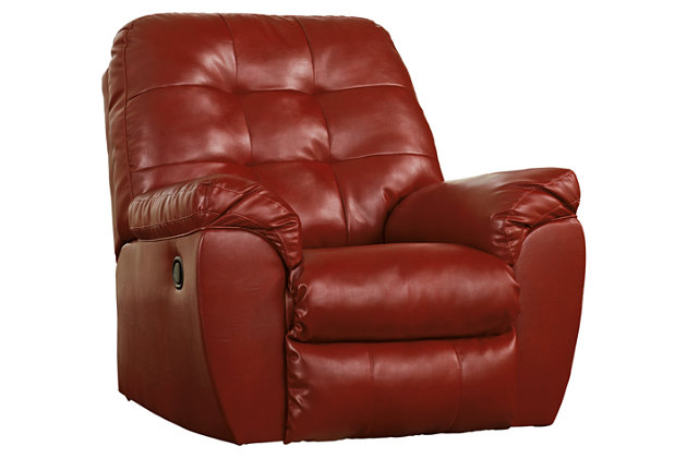 Alliston Recliner, Salsa, large