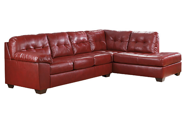 Alliston 2-Piece Sectional, Salsa, large