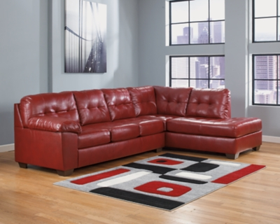 Alliston 2 Piece Sectional With Chaise Ashley Furniture Homestore