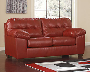 Alliston Loveseat, Salsa, rollover