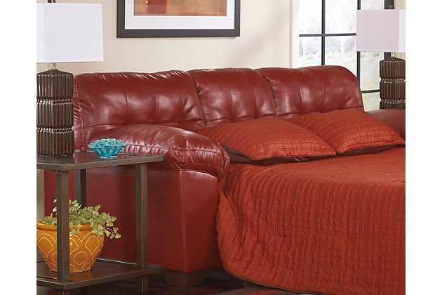 Alliston Queen Sofa Sleeper Salsa Large
