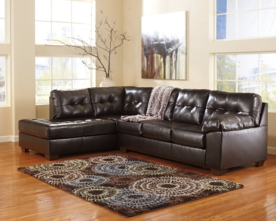 Alliston 2-Piece Sectional, Chocolate