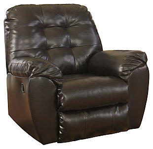 Alliston Recliner, Chocolate, large