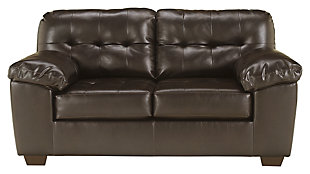 Alliston Loveseat, Chocolate, large