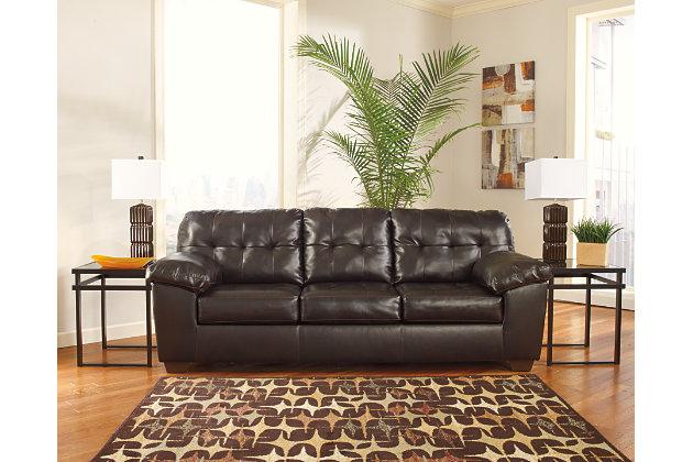 Alliston Queen Sofa Sleeper, Chocolate, large